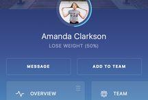 profile design UI
