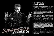 Sawenville : Le Tueur Fantome / Bande dessiné des frères Sawen
