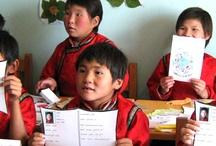 lotus childeren school / De Lotus Children's Centre is een Mongoolse non-profit, niet-gouvernementele organisatie die werken met kwetsbare kinderen en gezinnen om de fundamentele mensenrechten van onderdak, voedsel en onderwijs.