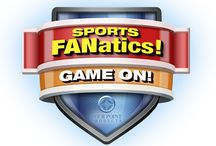 Sports FANatic! / Full-color, high quality digital printing enhances our Sports FANatic set!  Set includes playing field, jersey and equipment image for 6 different sports (football, baseball, basketball, golf, hockey and soccer) on 3 different products (ring binder, full size pad holder and mini pad holder).