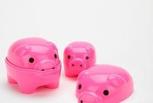 Pigs / by Andrea Maynard