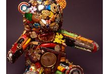 Recycled art ideas