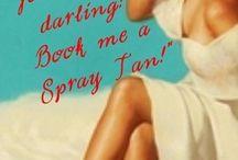 Spray tan stuff!