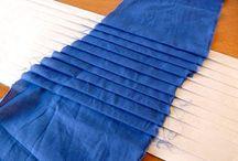 Thvotdan lage folder på et skjørt