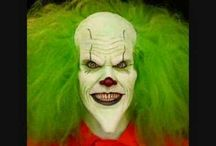 Scary Clown Makeup / A board for Inspiring Images of Killer / Psychotic / Scary Clown Images