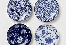 Blue objects & fabrics
