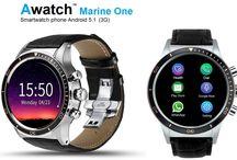 """Awatch Marine One / Smartwatch phone Android 5.1 (3G) """"Awatch Marine One""""  www.awatch.it"""