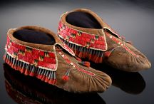 Footwear / Wendat Moccasins ca. 1800