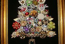 Xmas jewel trees