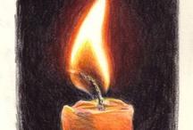 Art: Fire and light