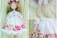 Текстильная Кукла Василиса Doll Vasilisa