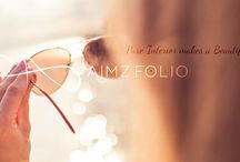 AimzFolio.com / Aimz' folios are smoothly simmered blend of life, health, enthusiasm, faith and inspiration. We believe that each of these attributes bring out the true aura of BEAUTY within as seen from the outside. To further enhance the exterior, we share tested tips for hair and skin beauty. Each folio is then topped with passion and energy that can be clearly seen.The team then serves them with a pinch of style on state-of-the-art platter.