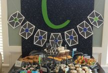 Star Wars party / Star Wars parties are popular with kids of all ages - boys and girls. Food, decor, DIY ideas and more.