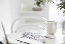 Mornings / Coffee & pastries.