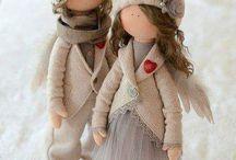 bonecos de panos