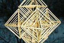 straw decorations - olkityöt