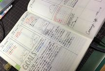 journal and schedule