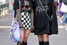 Moda de calle japonesa y mas