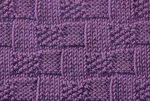 knitted stitches / by Karen DeWar