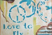 TCW Mediums / The Crafter's Workshop now has mediums for all your mixed media projects; gesso, textured paste, modeling paste and more