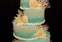 Beach cakes