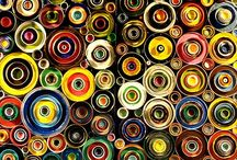 ArtEd: Large Scale/ Community Projects / These are projects to create with a grade level or art club that bring individual work together as a whole piece to be shown.