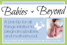 Babies & Beyond  / Awesome & Inspiring posts from the Babies & Beyond Link-Up.  Here you will find pins/posts related to pregnancy, birth, babies, and motherhood. / by Sarah Avila {My Joy-Filled Life}