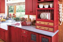 Cabinets & Closets / Traditional and innovative cabinets in the kitchen, bath, office, closets, garage, and laundry center for accessibility, function, and appearance. / by Steve Hoffacker - New Home Sales Training