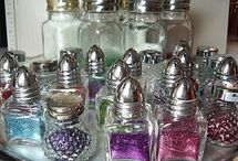 GREAT crafty, organizing ideas / by Stacey Flores