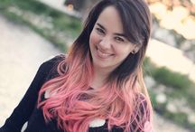 Rainbow Hair / Colorful hairstyles I adore