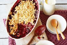 Autumn pudding recipes / Crumbles, pies and cobblers all bursting with seasonal fruit.