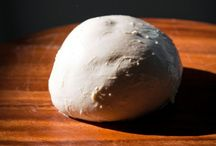 """Mozzarella / Mozzarella is a very famous fresh cheese, made from goat's milk but most usually from cow's milk throught a complex process by the name of """"pasta filata method""""."""