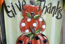 wall hangings- Thanksgiving-Halloween / by Dorothy Jordan