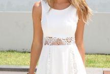 i love dresses - white