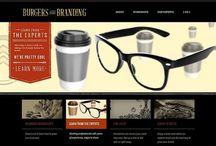 Web Design Inspiration / Reference for the websites I design through my graphic design studio http://dayzigngraphics.com/website-design/