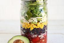 bocal salade