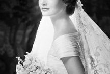 Wedding // Brides That Inspire / Looking back at brides through history. Get inspired by Kate and Audrey, Angelina and Diana. Check out this board to get inspired.