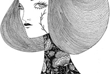 Fashion Illustration / Pictures that I like - tied to a college brief on illustration