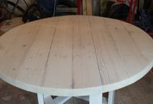 Round Table / DIY Pallet Table