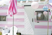 Mini Trailer/Airstream . . . . someday / Love the idea of road trips and camping in a CUTE trailer.