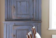 Primitive cabinets