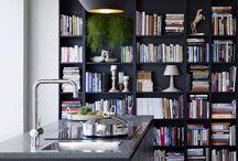 Books in livingroom