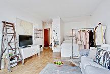 Estudios y mini apartamentos / Small interiors, decoration, lofts, studios...