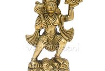 Buy Hanuman Idol/Statues Online from VedicVaani.com / Purchase Lord Hanuman Idols/sculpture online from the best online store from India to USA/UK at fair rates.