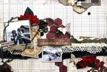 Scrapoholics - Heritage 02 / Geneology and Heritage Scrapbook layouts. NO PIN LIMITS...Re-PIN as many as you wish!