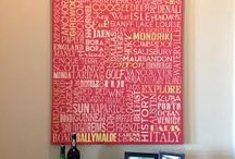 Decorating Ideas / by Geezees Canvas Art