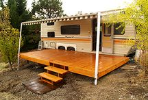 RV Home / Ideas to make our full-time travel comfortable and fun.