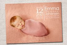 AJ | Birth Announcement Card