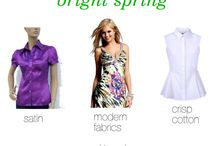 Bright Clear Vital Spring Fabrication / print and pattern