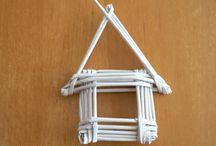papírový domeček